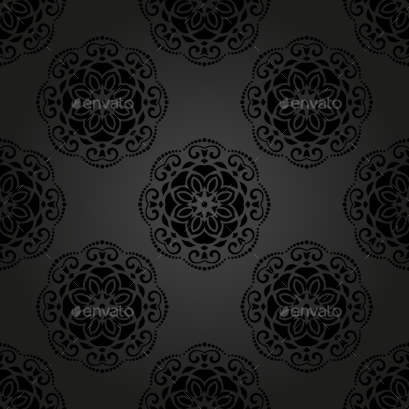 GraphicRiver Floral Seamless Vector Pattern 9009565