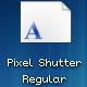 Pixel Shutter Regular - GraphicRiver Item for Sale