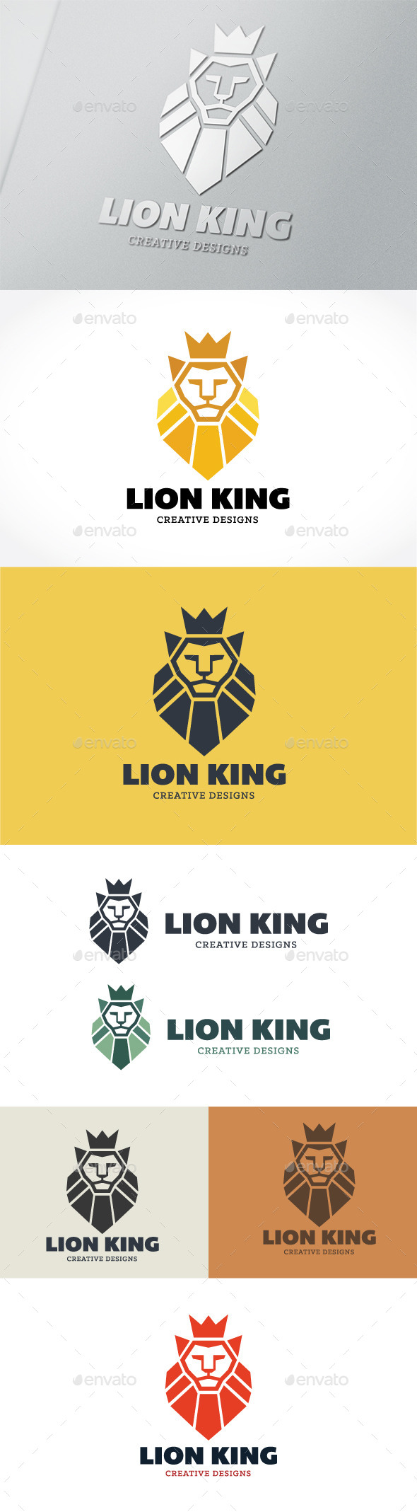 GraphicRiver Lion King 9009677
