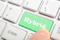 Green hybrid key on keyboard - PhotoDune Item for Sale