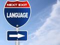 Language road sign - PhotoDune Item for Sale