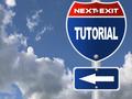 Tutorial road sign - PhotoDune Item for Sale
