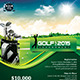 Golf Event Flyer Template - GraphicRiver Item for Sale