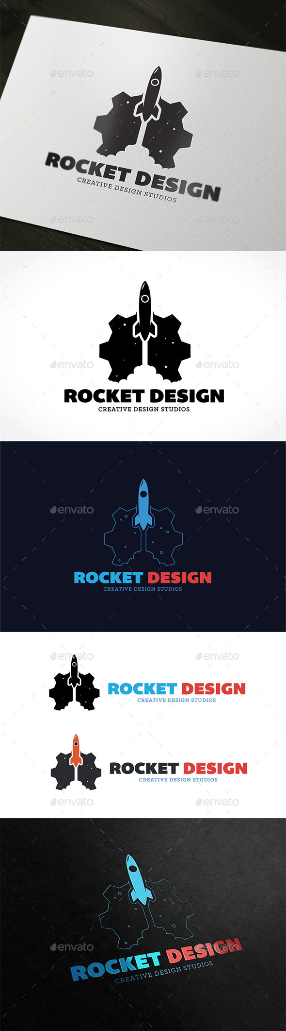 GraphicRiver Rocket Design 9010000