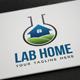 Lab Home Logo - GraphicRiver Item for Sale