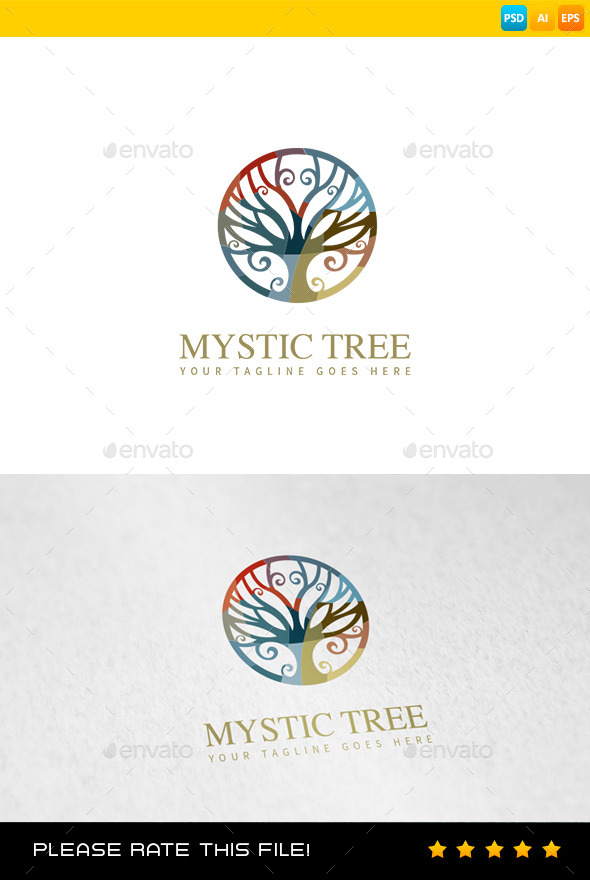 GraphicRiver Tree Logo 9010667