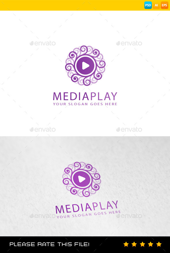 GraphicRiver Media Logo 9010824