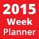Weekly Planner 2015 - GraphicRiver Item for Sale