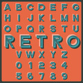 Retro font - PhotoDune Item for Sale