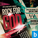 Rock for God Church Flyer - GraphicRiver Item for Sale