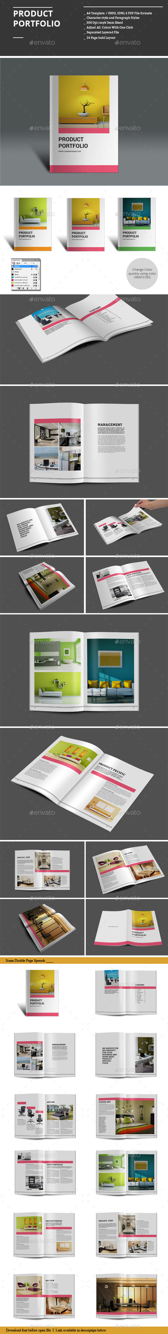 GraphicRiver Product Portfolio 9011166