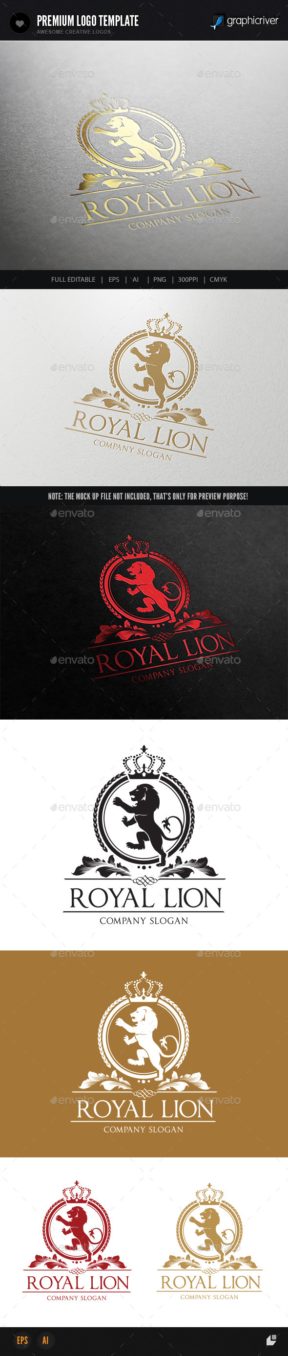 GraphicRiver Royal Lion 9007702