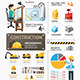 Construction Template Design Infographic - GraphicRiver Item for Sale