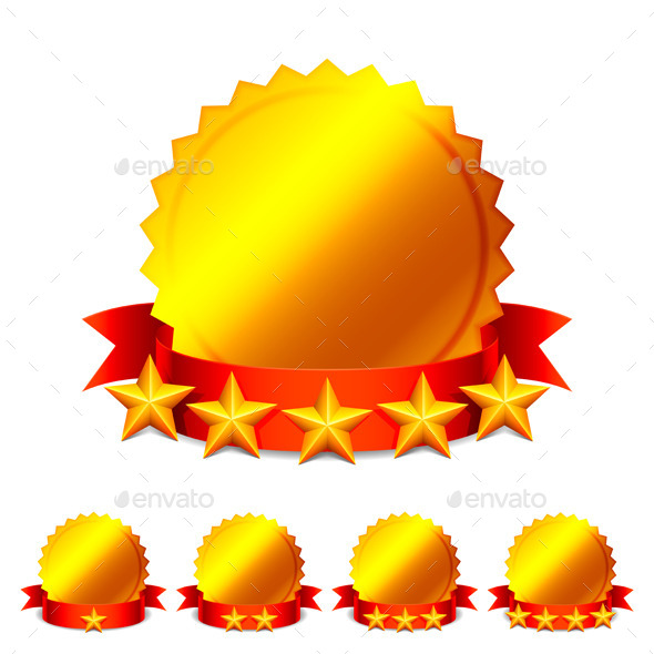 GraphicRiver Rating Medals 9011392