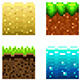 Textures for Platformers Pixel Art Icons - GraphicRiver Item for Sale