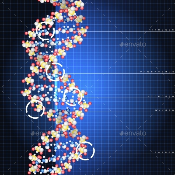 GraphicRiver Dna Double Helix 9012451