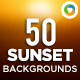 50 Sunset Backgrounds - GraphicRiver Item for Sale