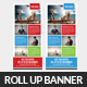 Tour Travel Rollup Banner Psd Template