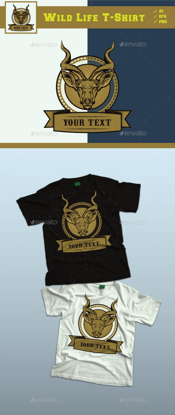 GraphicRiver Wild Life Design Tshirt 9013320
