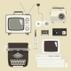Retro Devices Set - GraphicRiver Item for Sale