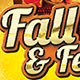 Fall Feast Invite/Flyer Set - GraphicRiver Item for Sale