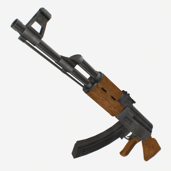 AK 47 - 3DOcean Item for Sale