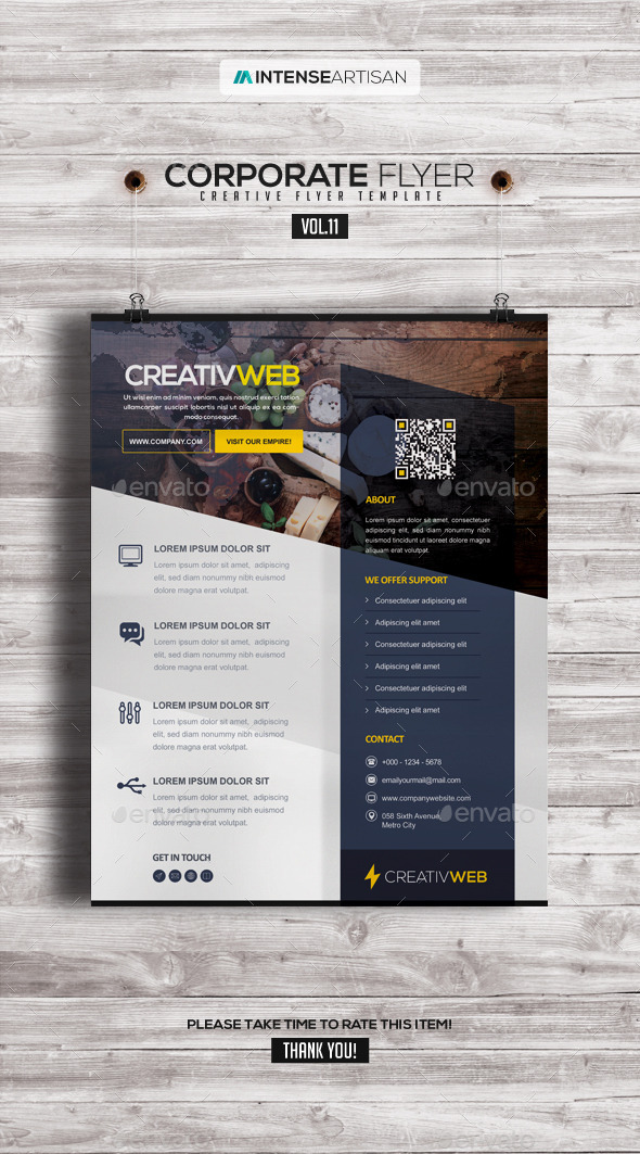 GraphicRiver Corporate Creative Poster Flyer V.11 9013685