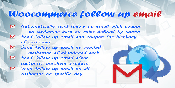 CodeCanyon Follow up email for woocommerce 9014090