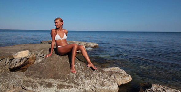 Sea Coast With Stones 19