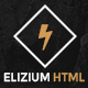 Elizium - One Page Parallax with Blog Pages - ThemeForest Item for Sale