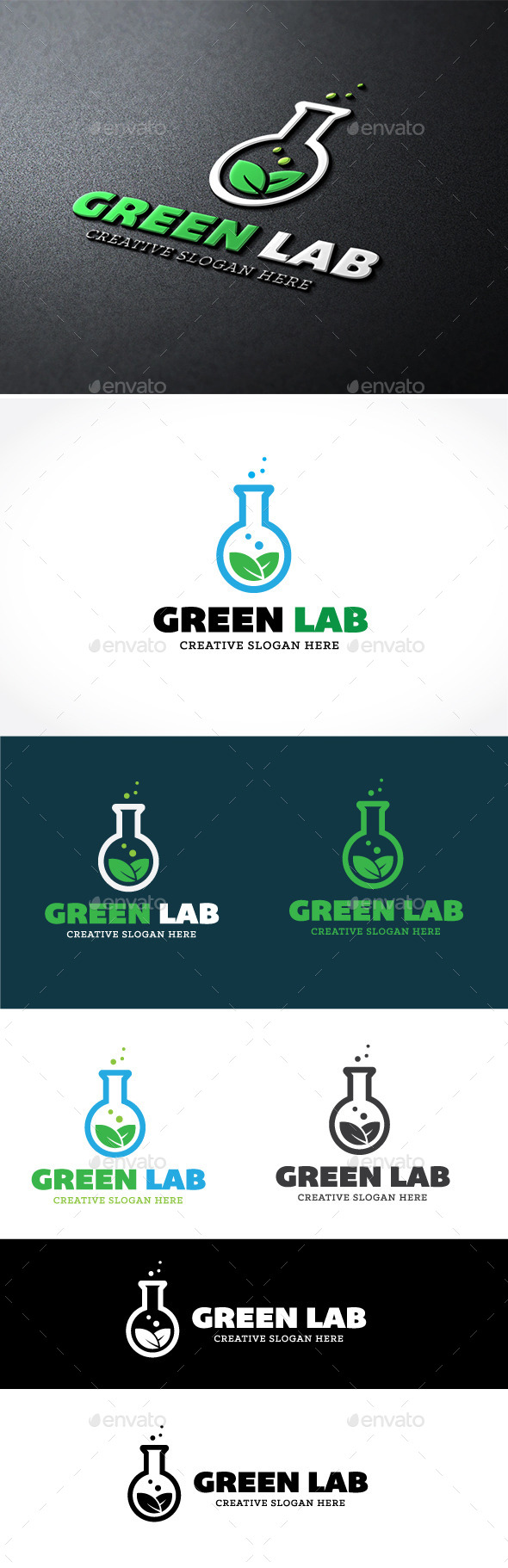 GraphicRiver Green Lab 9014334