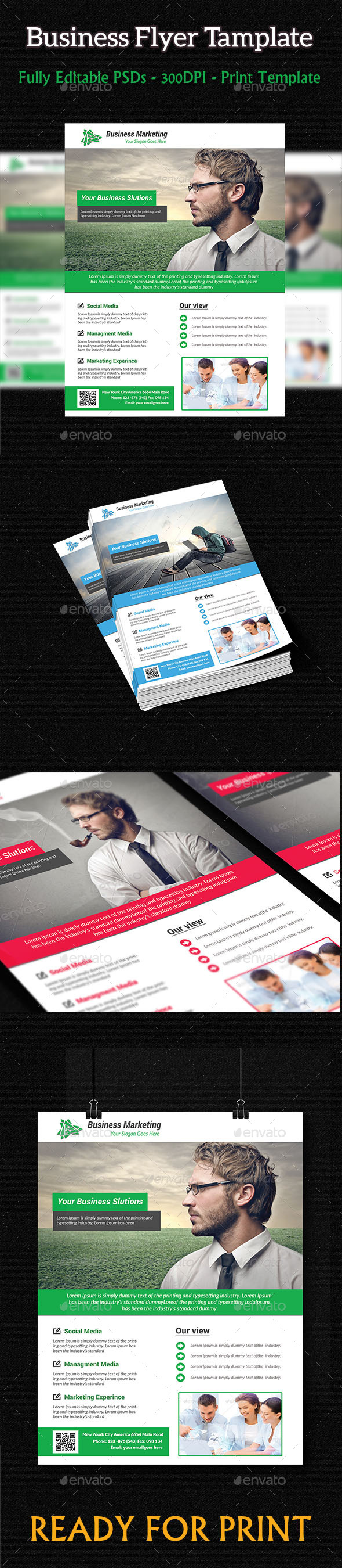 GraphicRiver Business Flyer Template 9014338