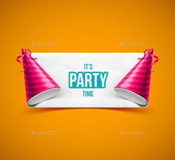 GraphicRiver It s Party Time 9014414