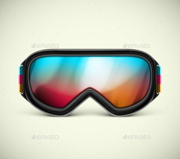 GraphicRiver Ski Goggles 9014417
