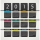 Calendar 2015 - GraphicRiver Item for Sale