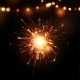 Holiday Background with Sparkler - GraphicRiver Item for Sale
