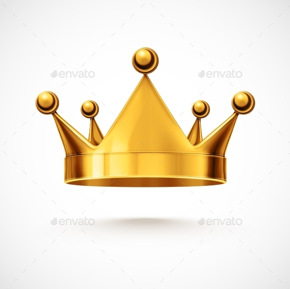 GraphicRiver Isolated Crown 9014422