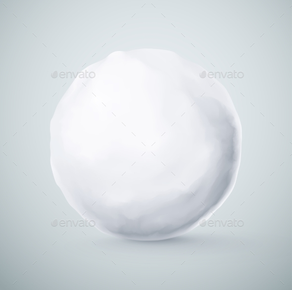 GraphicRiver Isolated Snowball 9014423