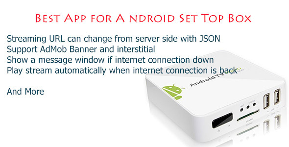 CodeCanyon Android Box TV App for Set Top Box & Mobile 9014489