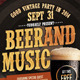Beer And Music - GraphicRiver Item for Sale