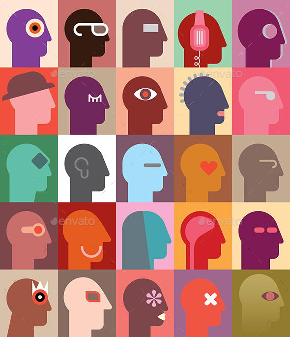 GraphicRiver Human Heads 9014544