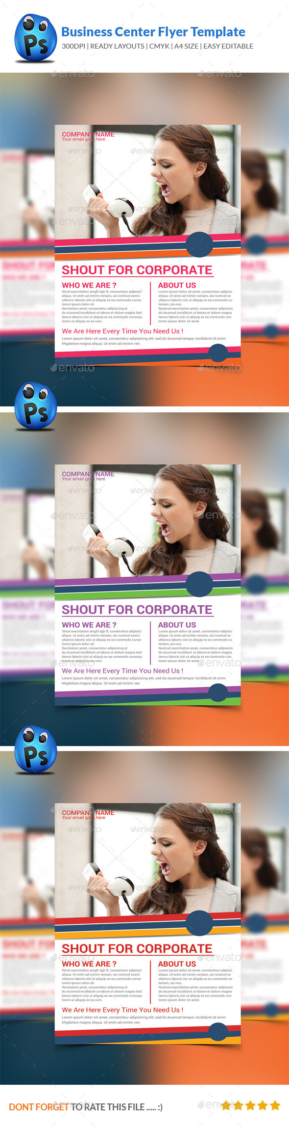 GraphicRiver Best Business Flyers Templates 9014618