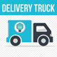 Delivery Truck - GraphicRiver Item for Sale