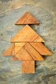 tangram Christmas tree - PhotoDune Item for Sale