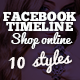 Facebook Timeline Covers - Shop Online - GraphicRiver Item for Sale