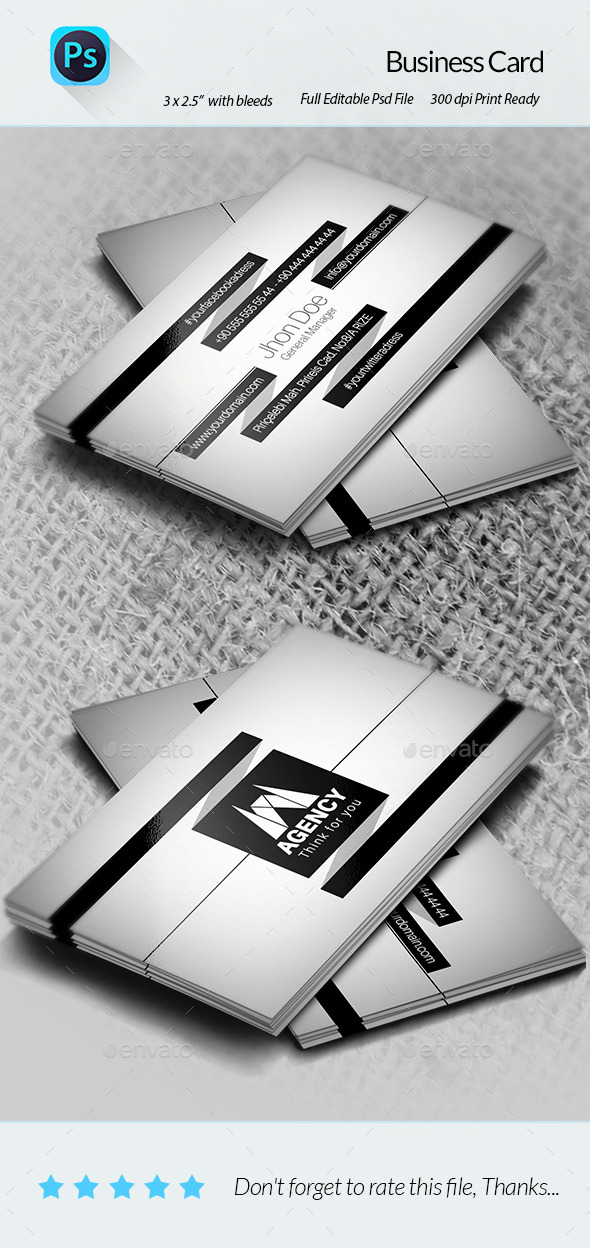 GraphicRiver Business Card 9014711