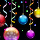 Christmas Background with Christmas Balls - GraphicRiver Item for Sale