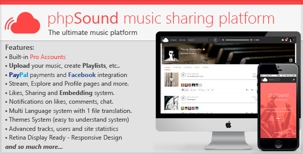 CodeCanyon phpSound Music Sharing Platform 9016117