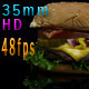 Cheeseburger Comes Into Focus - VideoHive Item for Sale