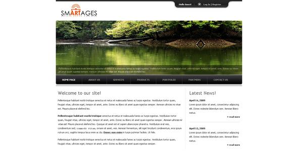 ThemeForest Smartages 37840